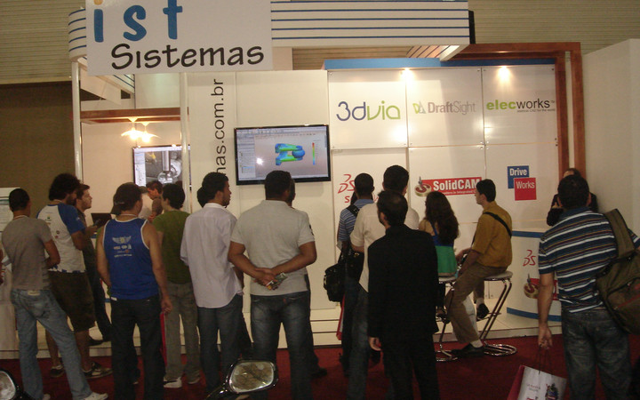 SolidCAM CAM software at CAD/CAM exhibition
