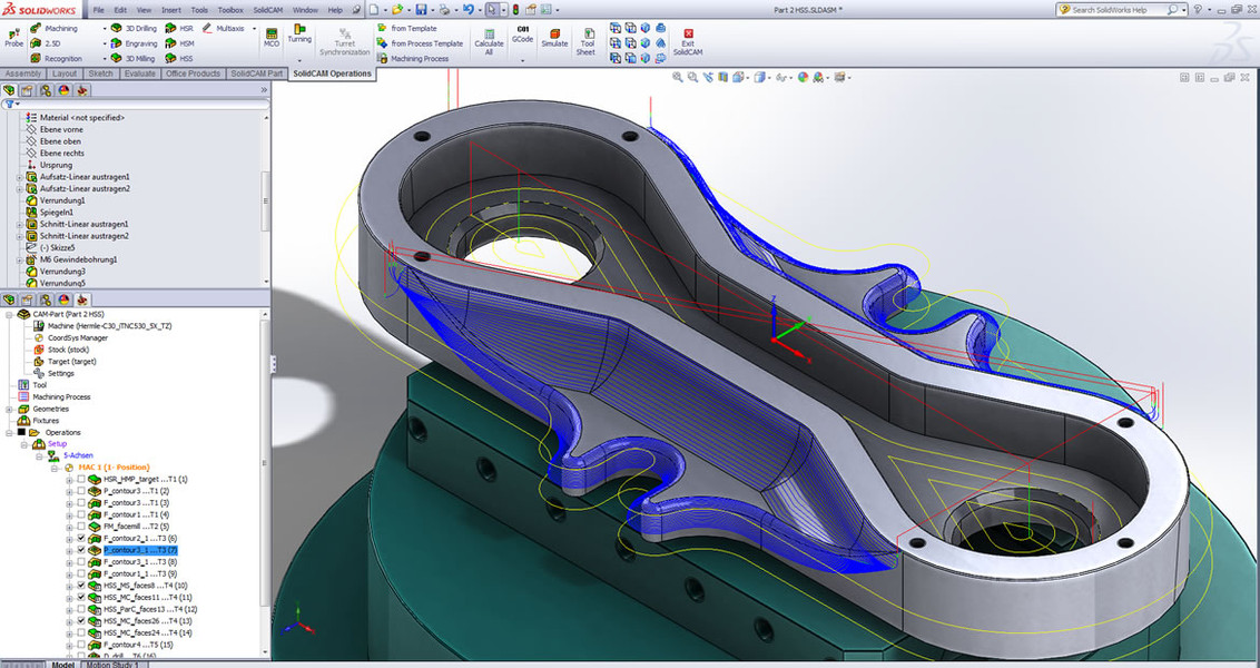 Solidcam Gives You The Most For Your Money The Integrated Cad Cam Solution Solidworks Solidcam Is Available At A Competitive Bundle Price