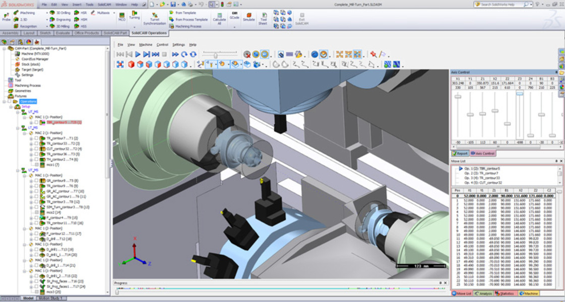 SolidCAM CAM Software: Advanced Mill-Turn
