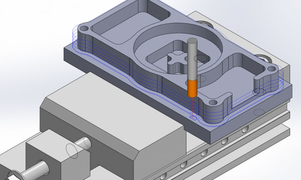 SolidCAM CAM Software: Milling - Entry Level